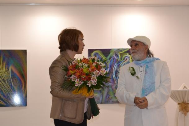 Кметът на Община Казанлък поздрави световноизвестния фотограф Кольо Пейчев за 80-годишния юбилей