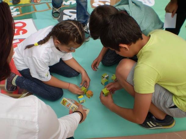 """08.04.2016 - Играта """"Помогни човече"""", част от проекта """"Гласът на децата"""""""