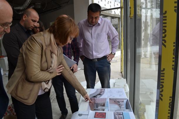 08.04.2016 - Кметът на Общината констатира със задоволство напредък в работите по новия Музей на роз