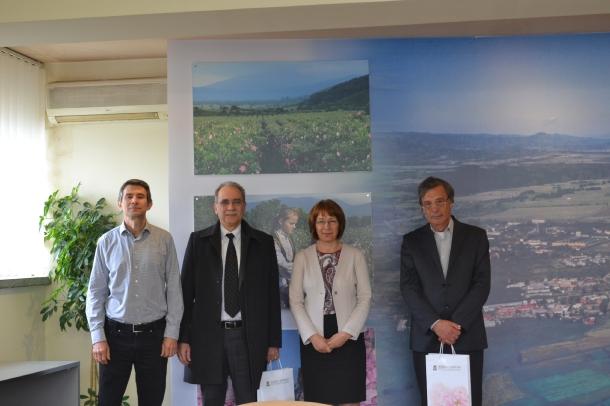 11.04.2016 - Възможности за побратимяване с марокански град обсъди днес Кметът на Община Казанлък