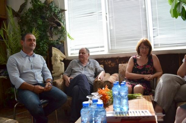 27.06.2016 - Кметът посети селата Кънчево и Ръжена