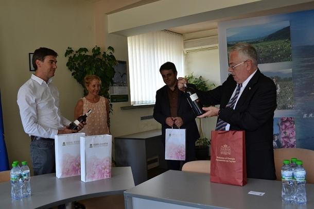 08.06.2016 - Делегация от Грузия гостува в Казанлък