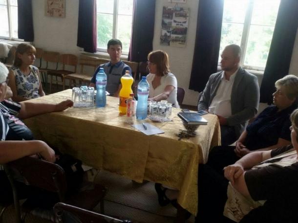 Кметът на Общината посети селата Бузовград и Розово