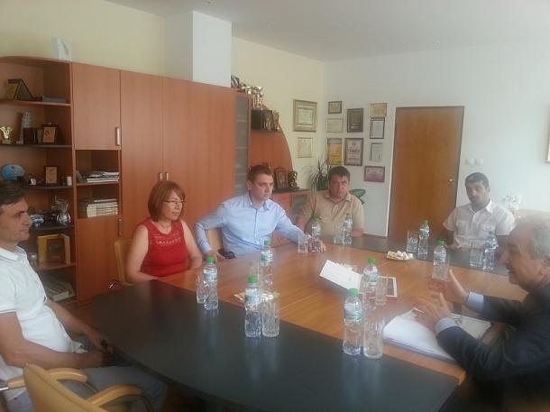 Кметът посрещна посланика на Украйна в община Казанлък