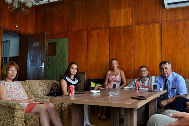 Кметът на Общината посети селата Овощник, Дунавци и Копринка