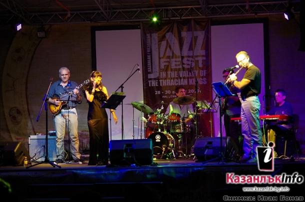 Джаз фестивал в Казанлък 2015