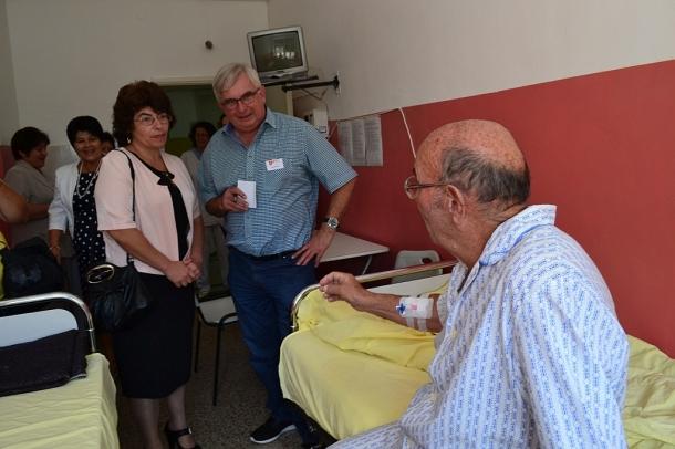 13.08.2016 - Представител на Малтийския орден посети болницата в Казанлък