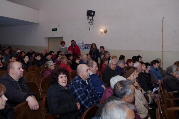 16.03.2017 - Канализацията в Копринка ще стане, ако правителството е от ГЕРБ - това е реалността