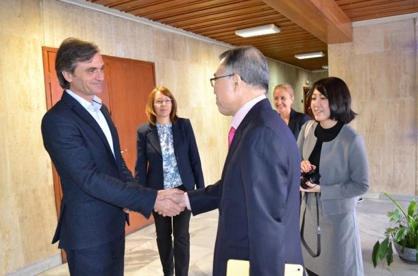 16.03.2017 - Новият посланик на Япония прие да оглави журито за Царица Роза 2017