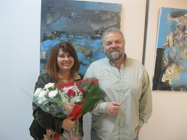 Росен Дончев откри своята осма самостоятелна изложба