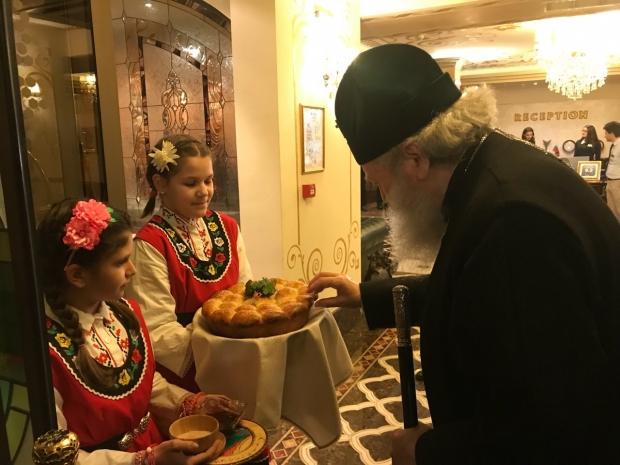 Митрополит Киприан посрещна двамата патриарси в Стара Загора