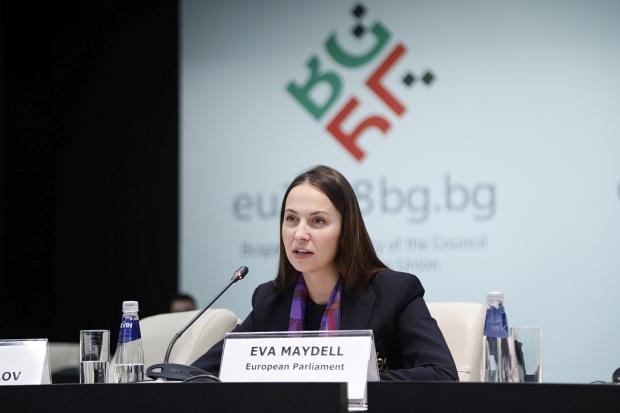 Евродепутатът Ева Майдел (ГЕРБ/ЕНП)