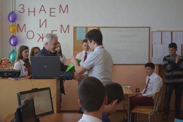 """Стартира Месецът на професиите в ПГ """"Иван Хаджиенов"""""""