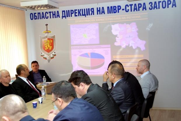 Главният секретар на МВР Младен Маринов: Резултатите от работата на ОДМВР-Стара Загора през 2017г. с