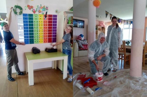 """Германски стажанти в центровете от семеен тип на фондация """"Сийдър"""""""
