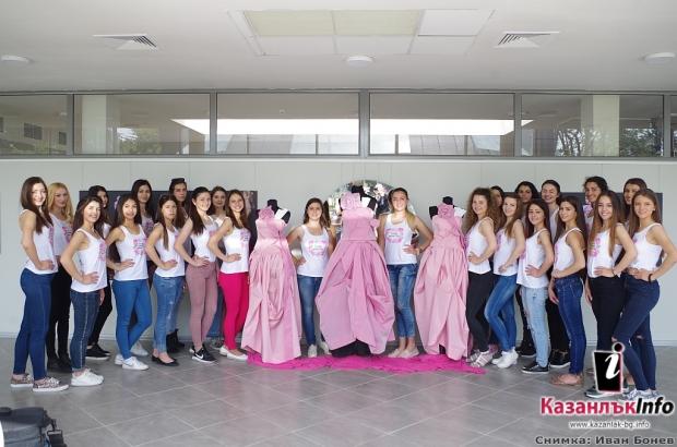 04.05.2018 - елегантните нови рокли, създадени от модния дизайнер Мариела Гемишева
