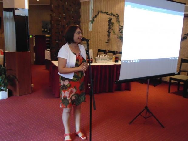Кметът Галина Стоянова благодари за щедростта на местния бизнес към бъдещето на колежа
