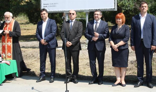Първа копка за рехабилитацията на пътя Чирпан - Симеоновград