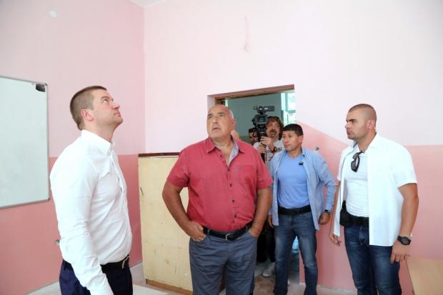 Премиерът Бойко Борисов инспектира напредъка по европейските проекти в Стара Загора
