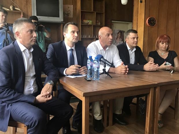 Старозагорски народни представители от ГЕРБ: Ще защитим интересите на хората в региона относно изгра
