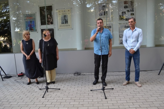 За първи път юбилейна изложба, в памет на проф.Александър Фол в Казанлък