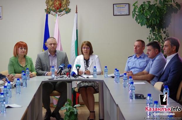 Община Казанлък, Полиция и Областна управа заедно срещу престъпността