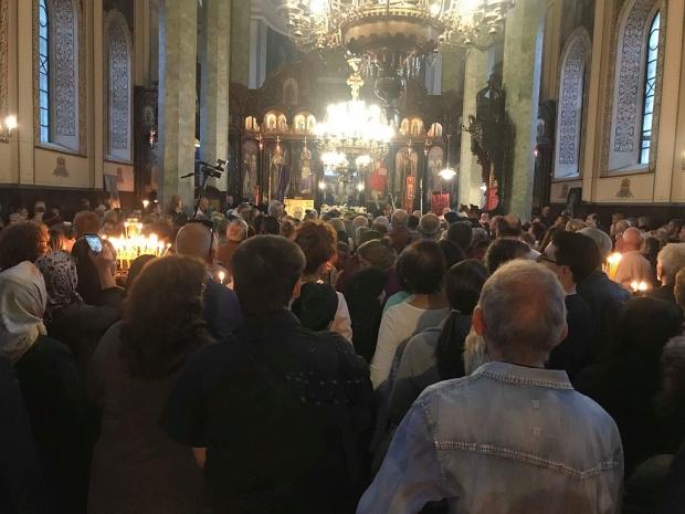 "Киприан посрещна Чудотворната икона на Пресвета Богородица ""Скоропослушница"""