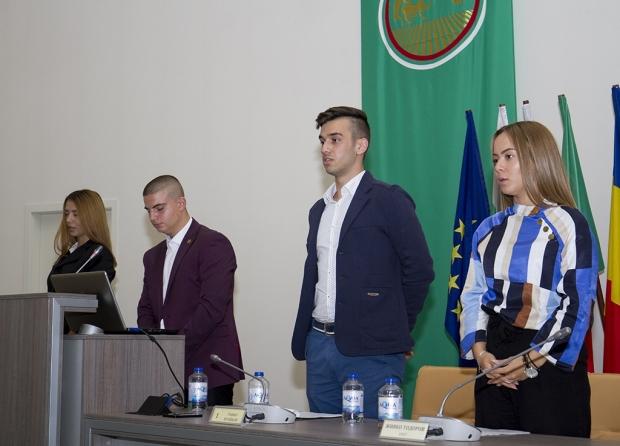 За 22-ри път Младежкият общински съвет положи клетва в Стара Загора