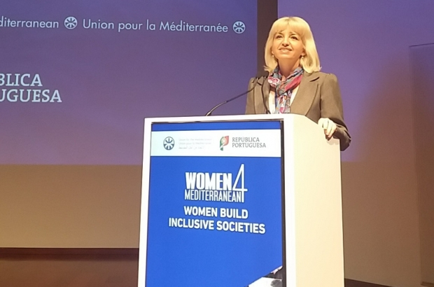 Петя Ставрева пред участниците в Международна конференция на жените в Лисабон