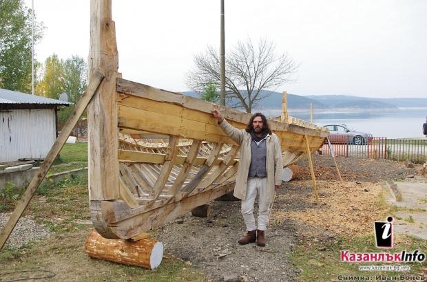 Тракийският боен птицеглав кораб - до къде е стигнал и какво следва в стоежа редакция