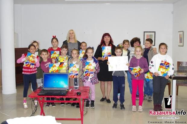 """Деца изявяваха своя талант в проекта """"Библиотеката – моята първа сцена"""""""