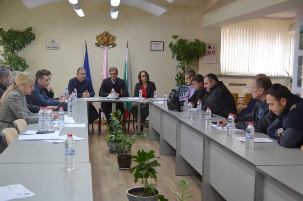Комисиите по обществен ред и сигурност в ОбС и общинска администрация заседаваха заедно