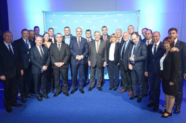 Председателят на ЕП Антонио Таяни: България се развива и разкрасява непрекъснато