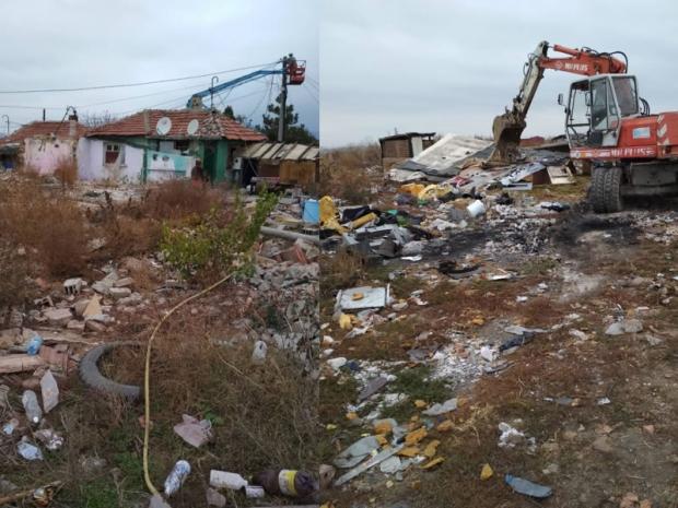 """Премахват 24 незаконни постройки в старозагорския кв. """"К. Ганчев"""""""