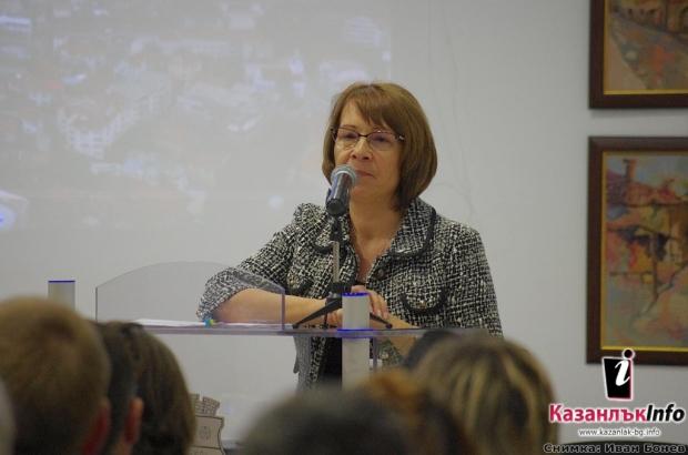 Кметът Галина Стоянова се отчете за третата година на мандат 2015 – 2019 година