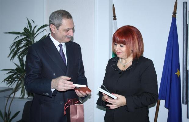 Среща с посланика на Армения