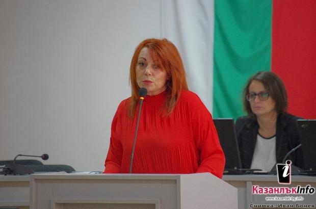 Гинка Щерева - клетва омбудсман 29.11.2018