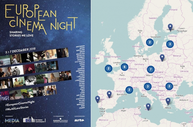 Нощ на европейското кино: 34 града от ЕС предлагат безплатни прожекции на европейски филми