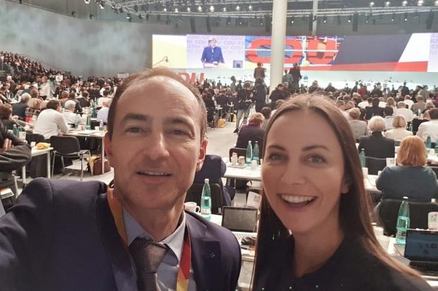 Евродепутатите от ГЕРБ/ЕНП Ева Майдел и Андрей Ковачев присъстваха на конгреса на Християн-демократи
