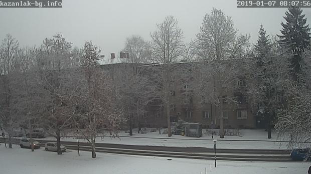 Казанлък сняг