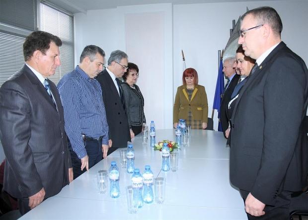 Гергана Микова се срещна с бивши областни управители на Старозагорска област