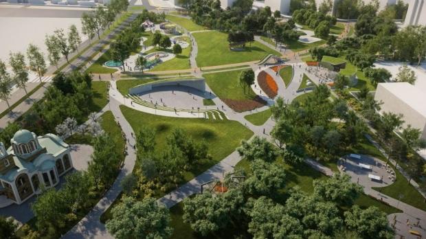 """Затварят движение заради изграждането на кръгово кръстовище край парк """"Артилерийски"""" в Стара Загора"""