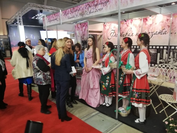 """Силен интерес към Казанлък на """"Ваканция и СПА Експо 2019"""""""