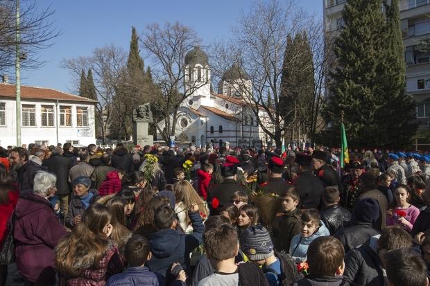 Старозагорци се поклониха пред подвига на Васил Левски