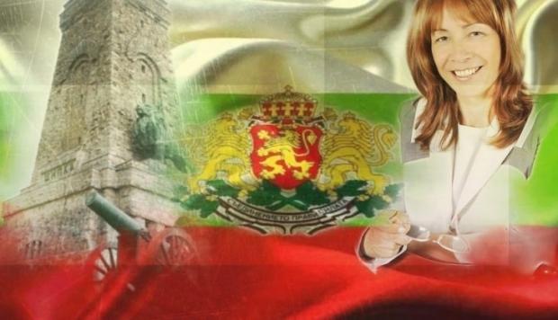 Поздравление на кмета на Община Казанлък Галина Стоянова по случай 3 март