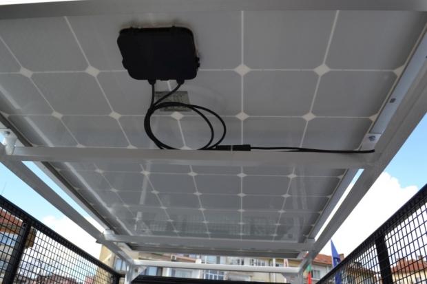 Новият мултифункционален електромобил пристигна в Казанлък