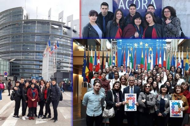 Седем евродепутата подписаха Хартата на гостоприемството създадена с участието на ученици от Антим!