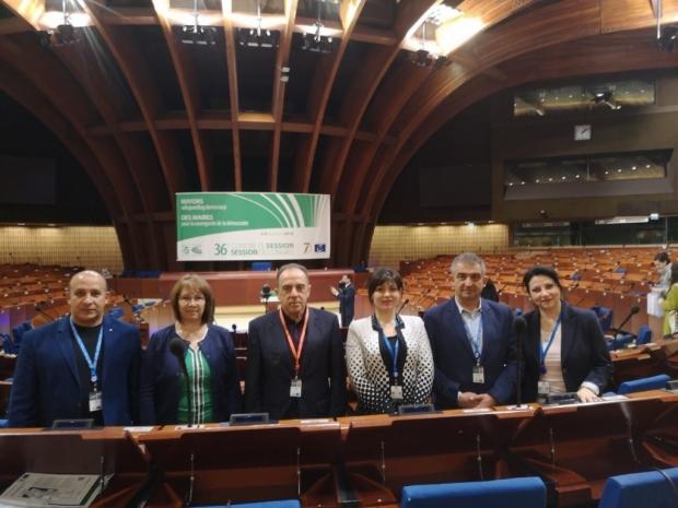 Кметът на Казанлък участва в сесията на Конгреса на местните власти в Страсбург