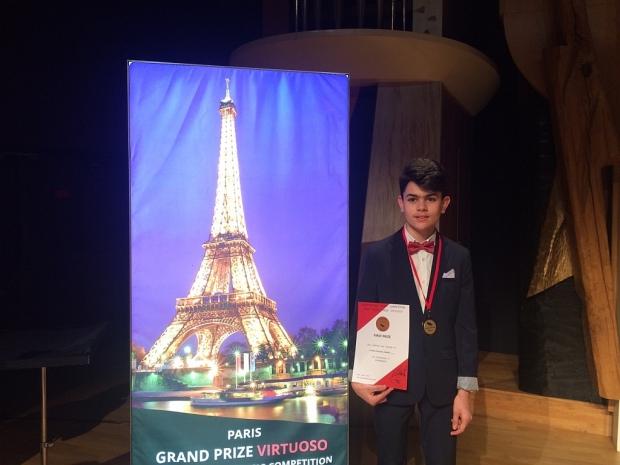 Поредно участие и пореден успех на международен музикален конкурс в Перник