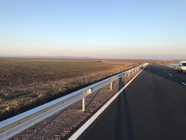 27 млн. лв. са инвестирани в ремонта на близо 39 км от път ІІ-57 Стара Загора – Раднево
